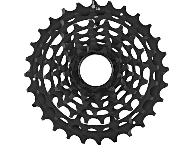 e*thirteen Steel Sprockets voor TRS Race cassette 10/11-speed, black